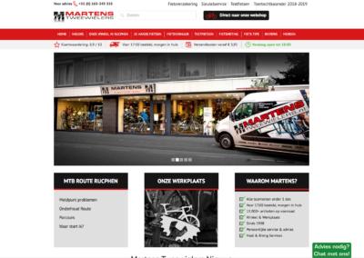 Homepage nieuwe site