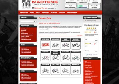 Productcategoriepagina oude site