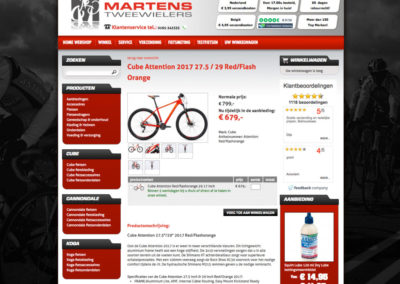 Productpagina oude site